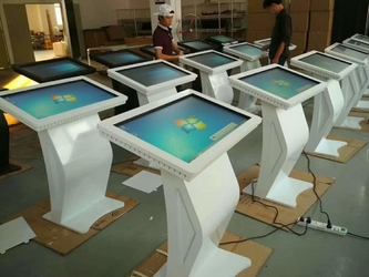 Standing Touch Kiosk Production