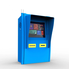 17 inch wall mounted kiosk payment machine and 80mm thermal printer self service kiosk payment machine