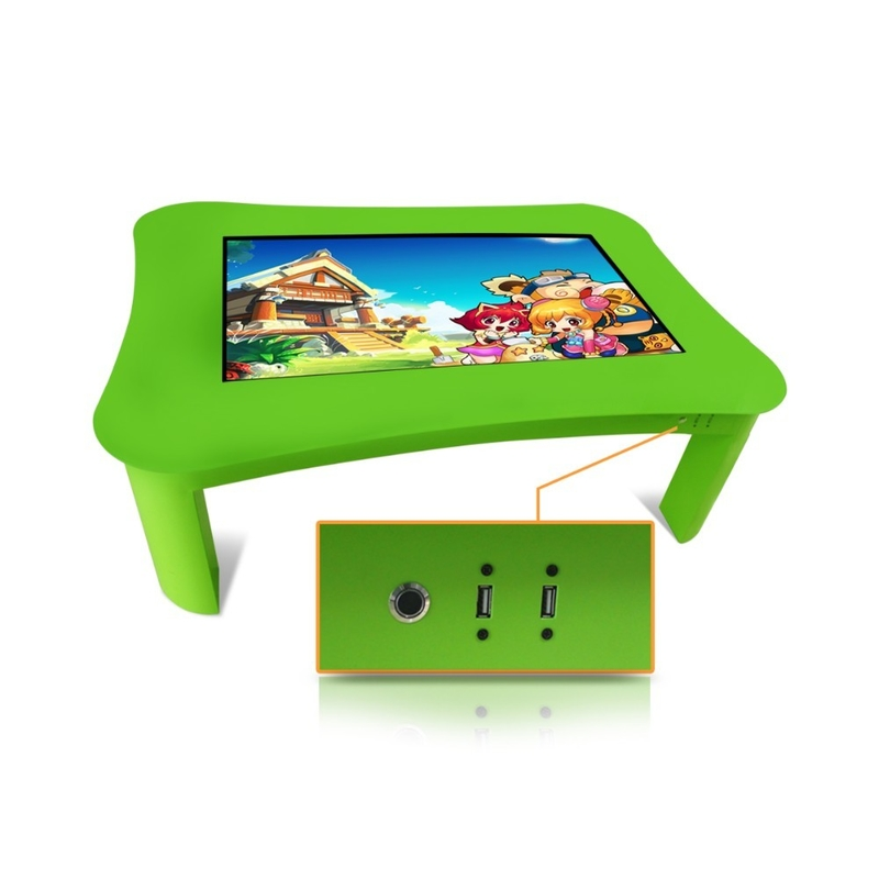 Hot 32 Inch Kids Interactive Capacitive Touch PC Screen With Table For School