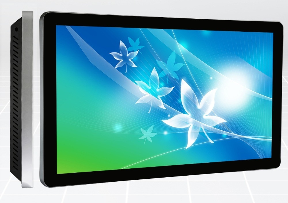 49 Inch I3 I5 All In One PC Touch Screen LCD Information Displays For Subway