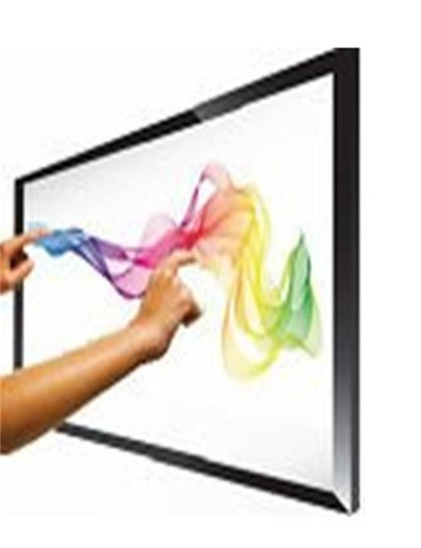 Infrared IR Multi Touch Screen Overlay Fast Response For Monitor / PC / TV