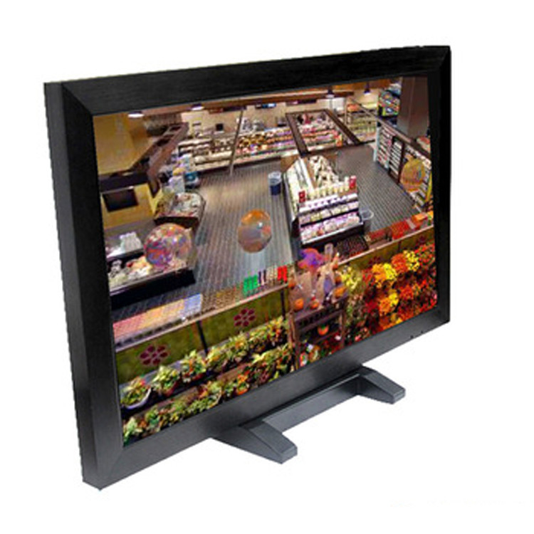 32 Inch Surveillance Cctv Monitor Screen , BNC Cctv Video Monitor For Security Room