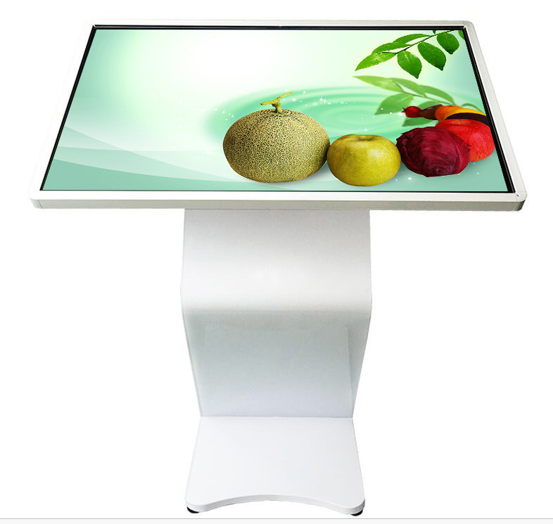55 Inch High Brightness WIifi Information Touch Screen Interactive Kiosk with Android