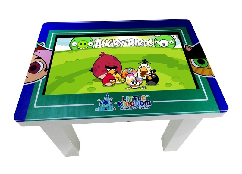 32 Inch H81 School Kids Game Multi Touch Screen Table 350Nit Brightness 698.4 * 392.8MM