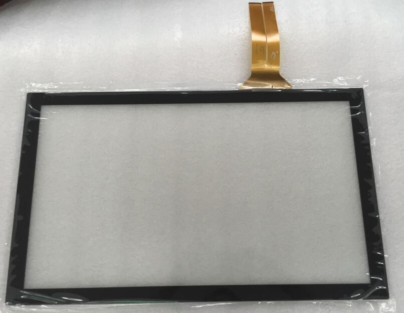 Flexible Capacitive Multi Touch Screen Panel Glass High Transparency For Monitor