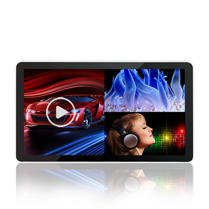 18.5-98 Inch Remote Control Digital Advertising Lcd Screens , High Brightness Flat Touch Screen Monitor