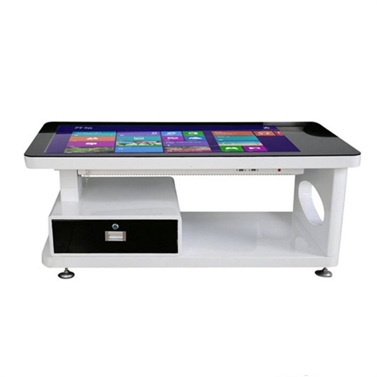 Lcd Microsoft Surface Multi Touch Screen Table Hotel High Definition Glass
