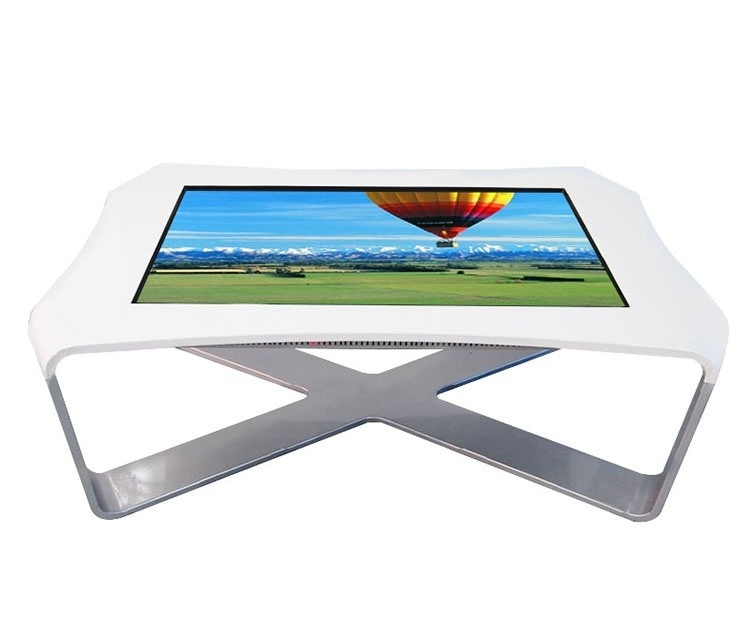 Android Network Windows Multi Touch Screen Table , Touch Screen Dining Table For Dining Hall
