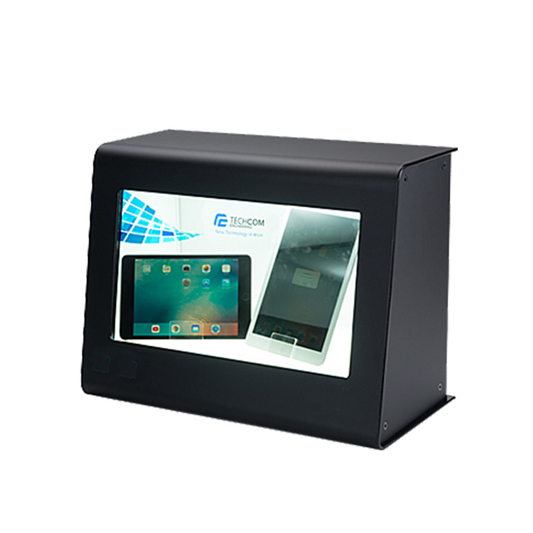 Modern Transparent Monitor Screen, Win10 All In One Digital Signage Transparent Lcd Showcase