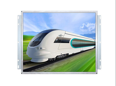 Industrial IR Touch Open Frame LCD Display High Stability For Gaming Machines