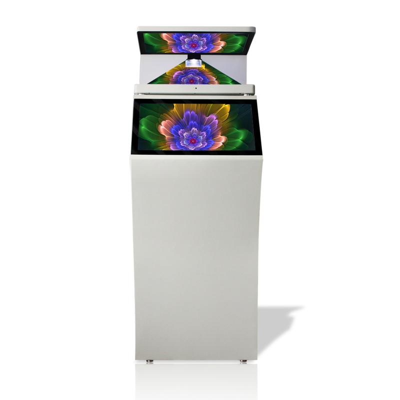 High Transparent Hologram Glass 3d Hologram Display , Touch Screen Holographic Video Projector