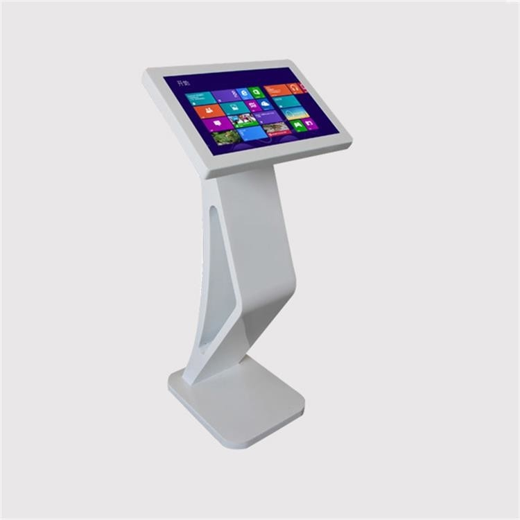 Portable Podium Interactive Touch Screen Kiosk 21.5 Inch Totem LCD Display Digital Signage