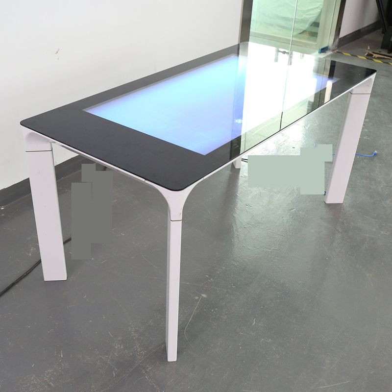 Flat Surface Capacitive Monitor Touch Screen , Interactive Touch Screen  Coffee Table 43 Inch