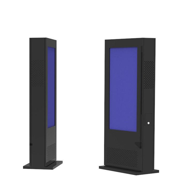 65 Inch Digital Kiosks Touch Screen , Floor Standing LCD