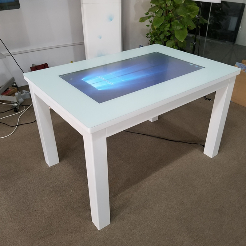 43 Inch Indoor Multi Touch Screen Table Waterproof Capacitive Touch 10 points