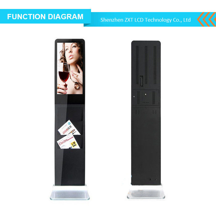 32 Inch Floor Stand Interactive Touch Screen Kiosk Android