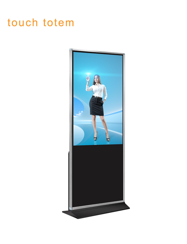 "43"" Indoor Floor Standing LCD Touch Screen Kiosk With Built In Windows And Android OS"