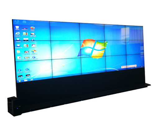 China Floor Stand Multi Screen Display Wall , High Contrast Large Video Wall Displays factory