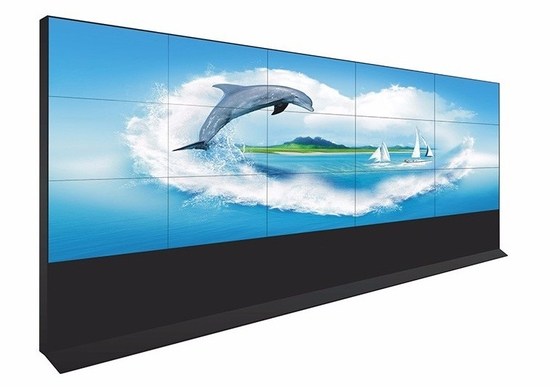 China Customized Seamless LCD Video Wall 46 Inch Wide Viewing Angle Support Splice Function factory