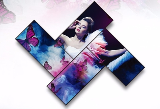 China Ultra Thin 4K LCD Video Wall Panel Built - In Speakers Remote Control Supported factory