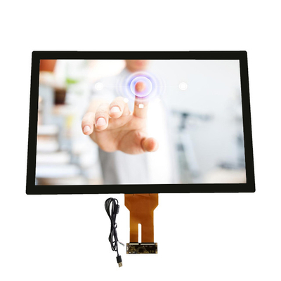 32 Inch Capacitive Multi Touch Screen Display Transparent Glass Touch Panel Windows Systems