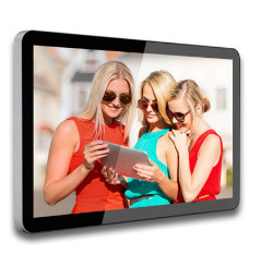 China 32 Inch HDMI Output Lcd Advertising Player , Remote Control Lcd Advertising Display Screen factory