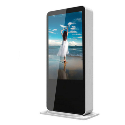China High Definition Outdoor Touch Screen Kiosk Low Power Consumption Dustproof For Bus Stop factory
