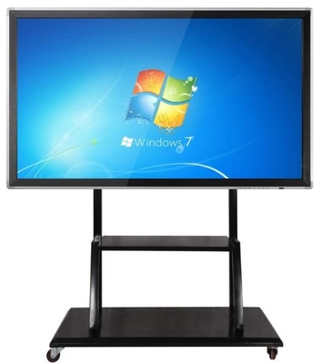 Floor Stand Movable Touch Screen LCD Monitor Support Windows/Android For Teaching