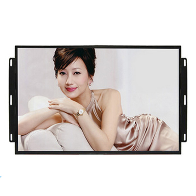 Custom 17 Inch Open Frame LCD Display Digital Signage For Kiosk / Atm Machine
