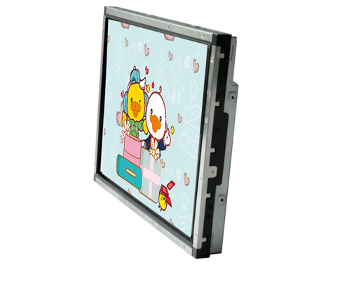 Hight Brightness Lcd Open Frame Monitor , 15 Inch Open Frame Touch Monitor Anti - Glare