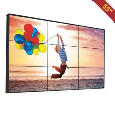 Advertising Video Wall Display Monitors , DID Multi Screen Video Wall Low Heat Radiation