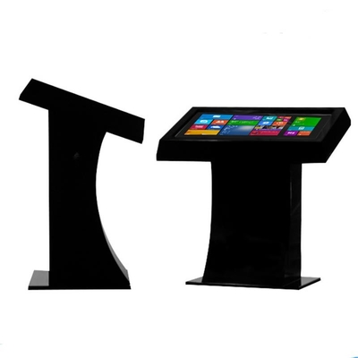 High Brightness 43'' Interactive Touch Table , Kiosk Multi Touch Display Full Hd Resolution