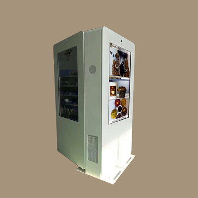 China Fan Cooling Outdoor Touch Screen Kiosk 55 Inch 1080P Double Sided LCD Display factory
