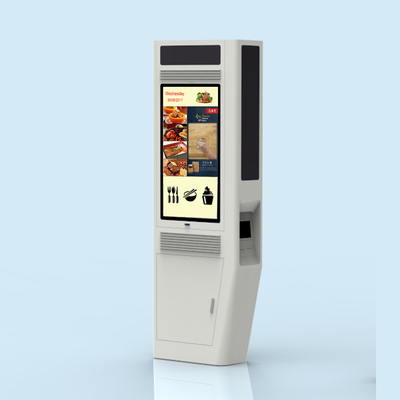 Totem Outdoor Touch Screen Kiosk 2000nits Advertising Equipment LCD Display