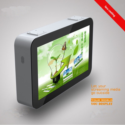 43 Inch Outdoor Touch Screen Kiosk High Brightness IP65 Waterproof For Outdoor Display