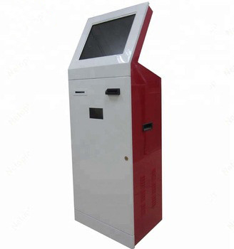 19 Inch Standing Indoor Automatic 3G Payment Kiosk Terminal For Bank, Hotel