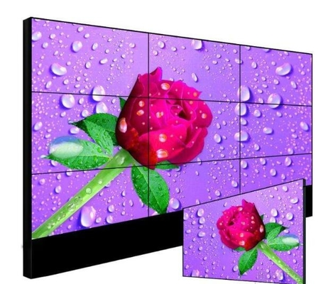 500Nits 55 Inch Slim Bezel Original LCD Panel Wall-Mounted/Cabinet Video Wall For Advertisement