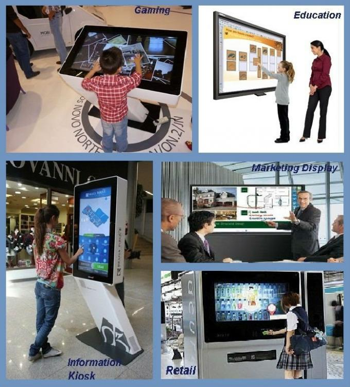 IP65 Waterproof Multi Touch Screen Linux Android Operation Systems For Interactive