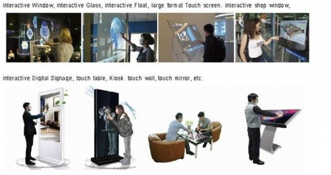 32 Inch Touch Screen Film Overlay , Transparent Capacitive Touch Screen Film