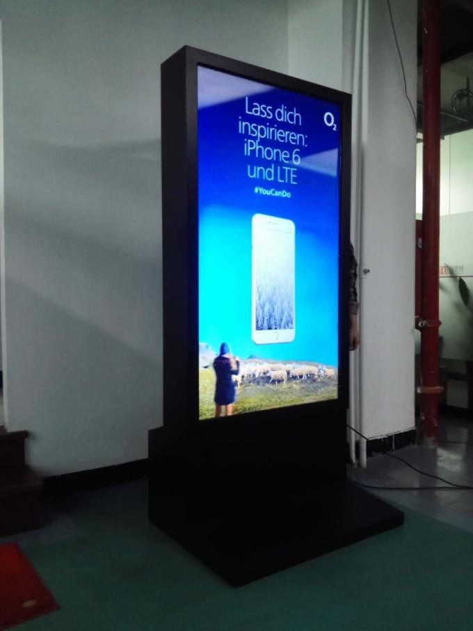 High Definition Glass Free 3D Display / 65 Inch Digital Signage