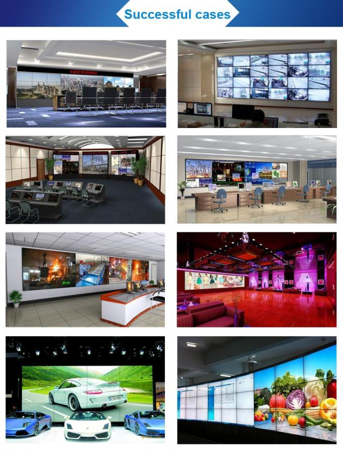 High Performance 46 Inch Digital Wall Display , Multiple Splicing Video Wall Panels
