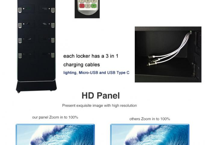 Shockproof Digital Advertising Display Screens , Hospital Digital Touch Screen Display