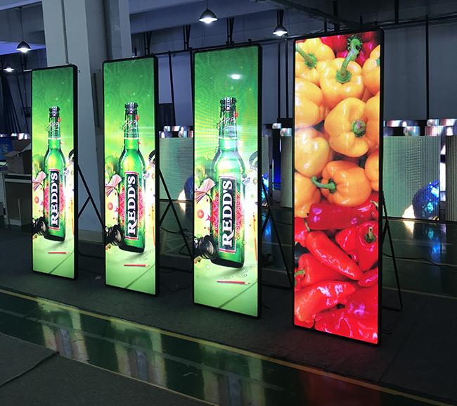 Ultra Thin HD P2.5 Led Video Screen Rental , Commercial Ads Indoor Led Display Screen