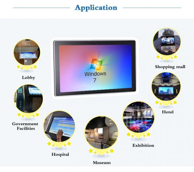 All In One PC Digital Signage Wall Mount , Compatible 32 Inch All In One Pc