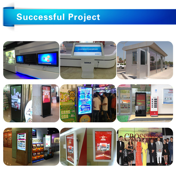 Trailer Information DisplayDigital Signage Kiosk 28 Inch For Buses And Metro Stations