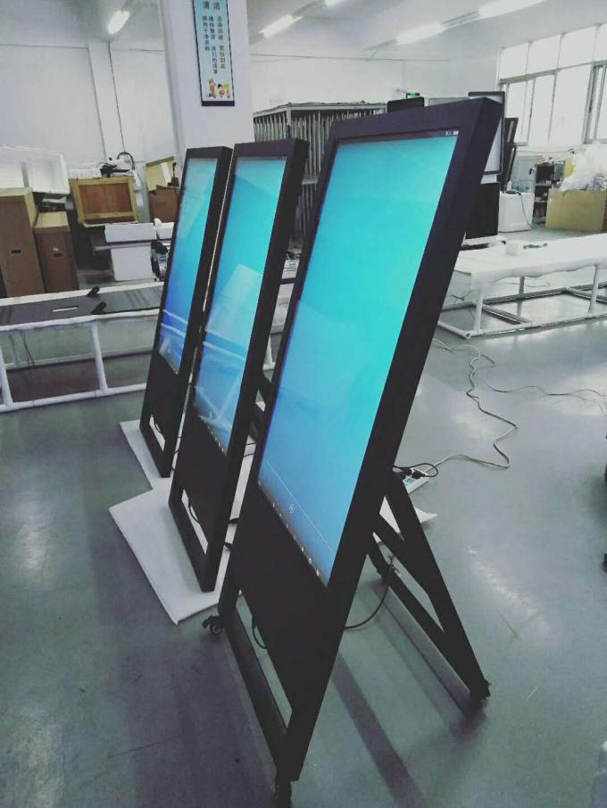 Restaurant Lcd Poster Display , 43 Inch Flexible Foldable Retail Digital Signage Restaurant Lcd Poster Display