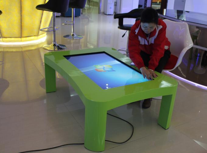 Kindergarten Game Multi Touch Screen Table 4GB RAM High Definition Image Display
