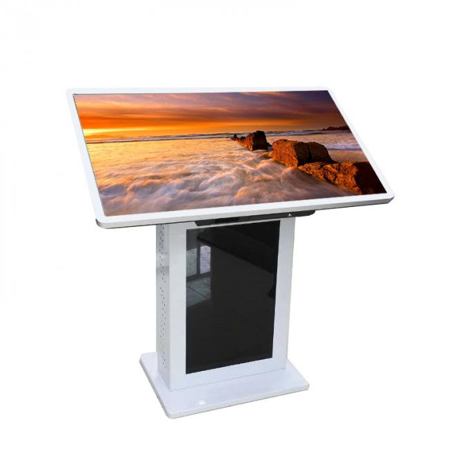 Tabletop 42 Inch Multi Touch Screen Table Fast Response 60 Nits Brightness