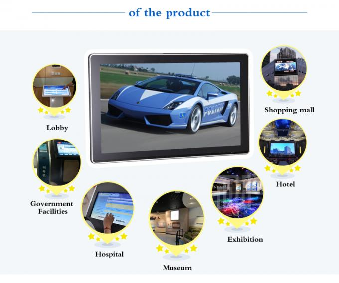 32 Inch HDMI Output Lcd Advertising Player , Remote Control Lcd Advertising Display Screen