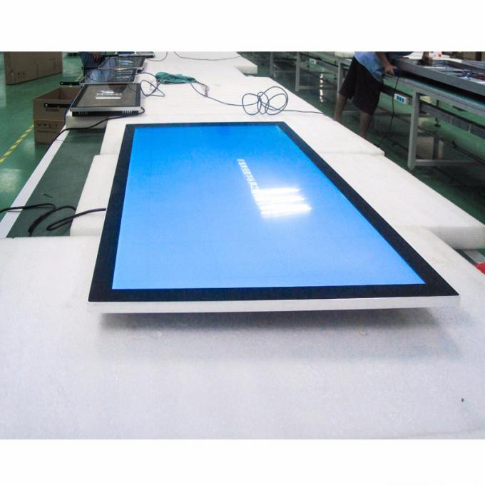 Public Wall Mount Lcd Display / High Definition Smart Digital Advertising LCD Screen